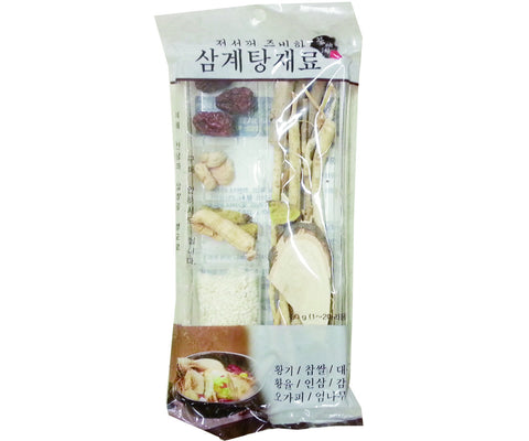 [Wang] Korean Herb for Chicken Stew /왕 삼계탕 재료( 90g)
