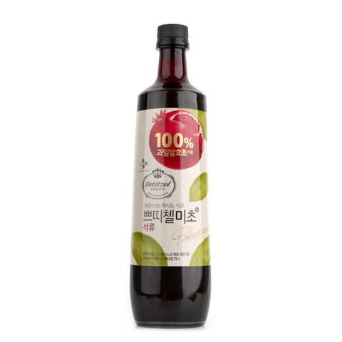 [CJ] Petitzel Fruit Vinegar for Drink Pomegranate / CJ 쁘띠첼 미초 석류 (900ml)
