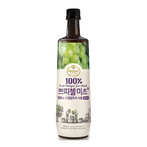 [CJ] Petitzel Fruit Vinegar for Drink Muscat / CJ 쁘띠첼 미초 청포도 (900ml)