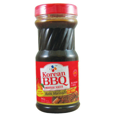 [CJ] Korean BBQ Original Sauce Kalbi Marinated for Beef Rib/소갈비 양념 840g