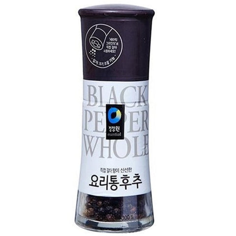 CJO WHOLE BLACK PEPPER 35g / 청정원 요리통후추 35g