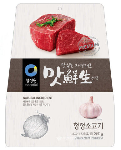 CJO DASIDA PREMIUM SEASONING MIX 250g / 청정원 맛선생 청정소고기 250g