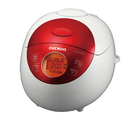 Cuckoo 3-Cup Electric Rice Jar Cooker CR-0351F - Red