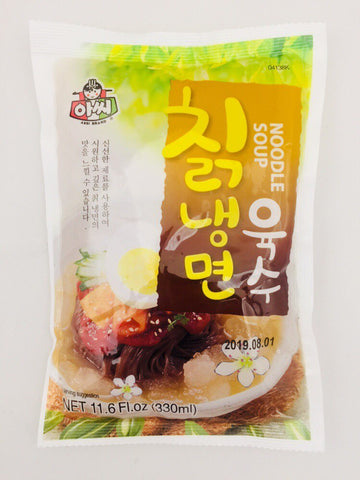 [ASSI] Arrowroot Cold Noodle Soup  / 아씨 칡 냉면 육수 330ml