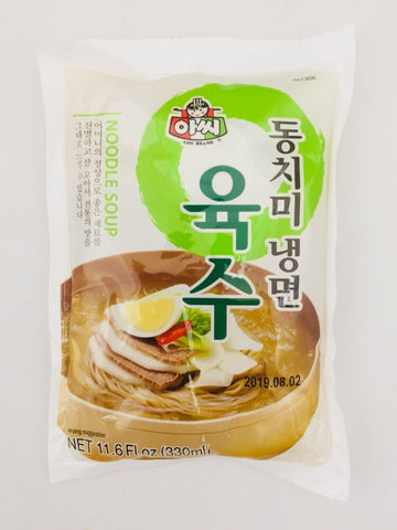 [ASSI] Dongchimi Cold Noodle Soup  / 아씨 동치미 냉면 육수 (330ml)