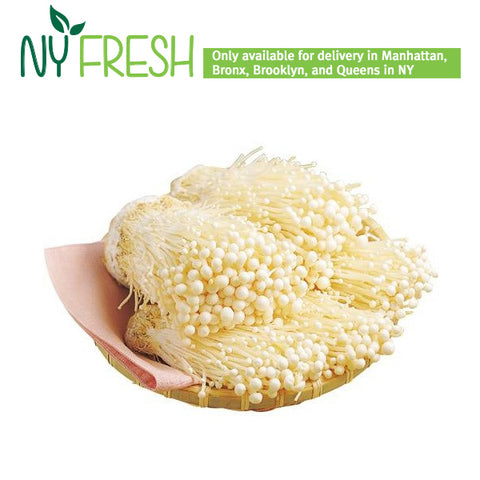 [NY FRESH] Enoki Mushrooms/팽이버섯 (200g)