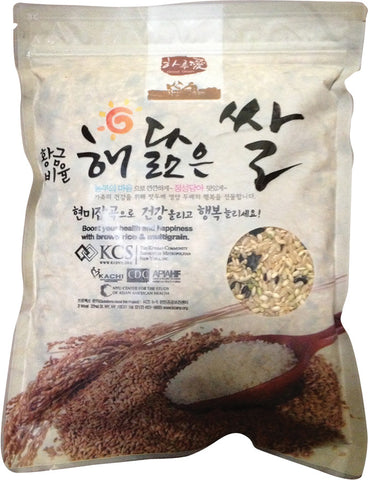 The Golden Ratio-Multi Grain Healthy Mixed Rice/황금비율 해닮은 쌀 (9LB)
