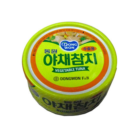 Dongwon F&B Light Tuna w. Vegetables/동원 야채 참치 (5.3 oz/ 150 g)