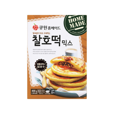 [Q 1] Sweet Korean Pancake Mix Original/큐원 찰호떡 믹스 (550g)
