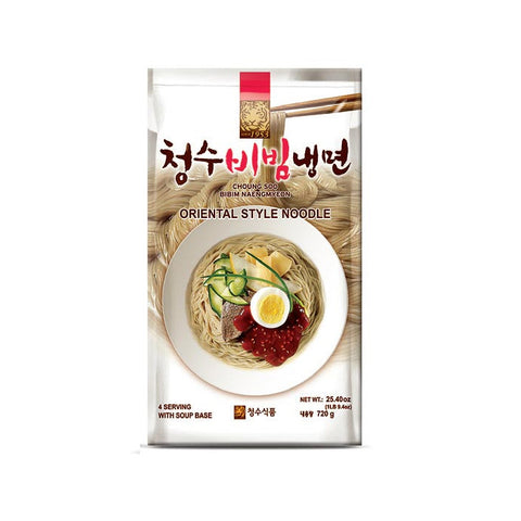 [Chungsoo Dried Naengmyun] Cold Noodle with Spicy  / 청수비빔냉면 (720g)