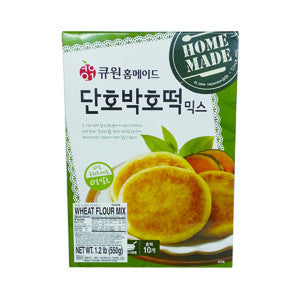[Q 1]Sweet Korean Pancake Mix Pumpkin Flavor/큐원 단호박 호떡 믹스 (550g)