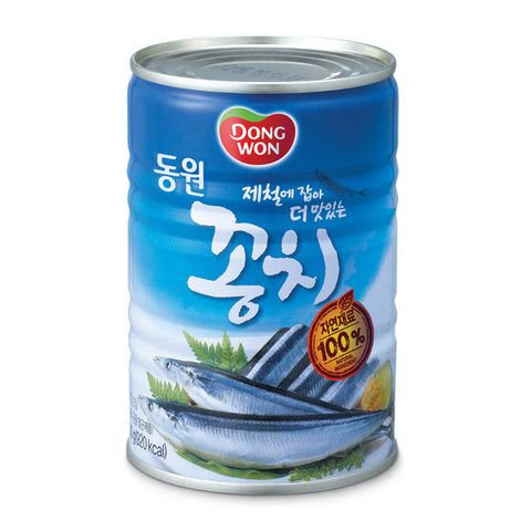 [Dongwon F&B] Mackerel Pike/동원 꽁치 (400g)