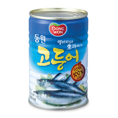 [Dongwon] F&B Boiled Mackerel/동원 고등어 (14.1 oz/400g)