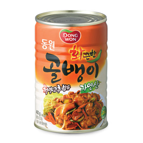 Dongwon F&B Bai-Top Shell (Spicy)/동원 화끈한 골뱅이(400g)
