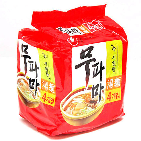 [Nongshim] Spicy Vegetable Noodle Soup/농심 무파마 (4/pk)