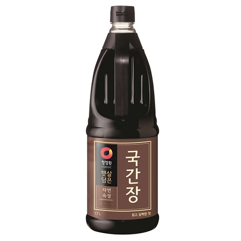 [Chungjungone] Soup Soy Sauce/청정원 햇살담은 자연숙성 국간장 (1.7L)