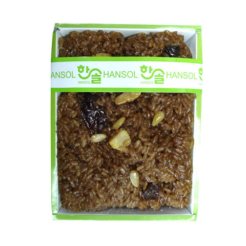[Hansol] Sweetened Rice w. Dried Fruits  & Nuts/한솔 약식 (0.7LB)