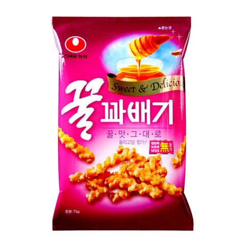 Nongshim Honey Flavored Twist Snack /꿀꽈배기 (Big Size 285g)