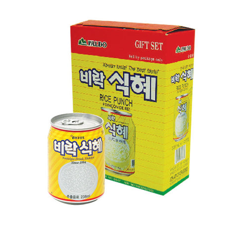 [Paldo]  RICE PUNCH / 비락 식혜 ( 12can/box)