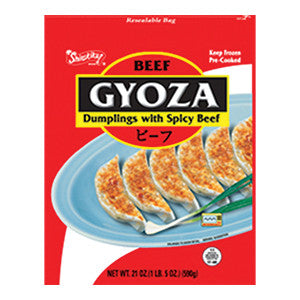 Nishimoto Gyoza Dumplings with Spicy Beef/니시모토  소고기 교자만두 (21oz)