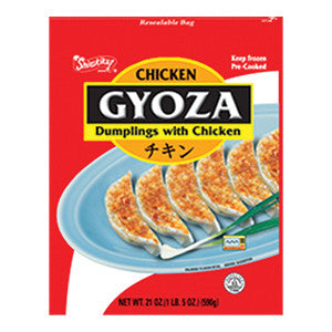 Nishimoto Gyoza Dumplings with Chicken/니시모토  치킨 교자만두 (21oz)