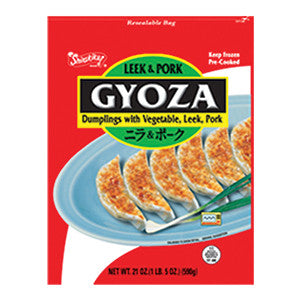 Nishimoto Gyoza Dumplings with vegetable, Leek and Pork/니시모토 부추 교자만두 (21oz)