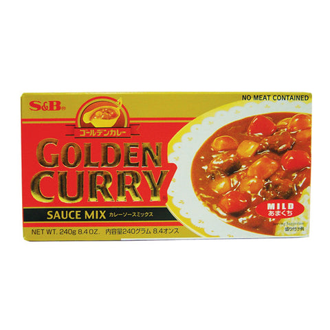 S&B Golden Curry -mild- 240g