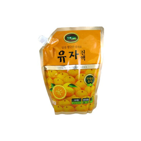 [kJ]Sweet Filled w. Citrus Aroma Tea/국제식품 유자 진액 (1KG)