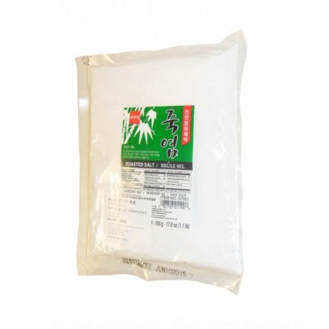 WANG BAMBOO SALT 500g / 왕 죽염 500g