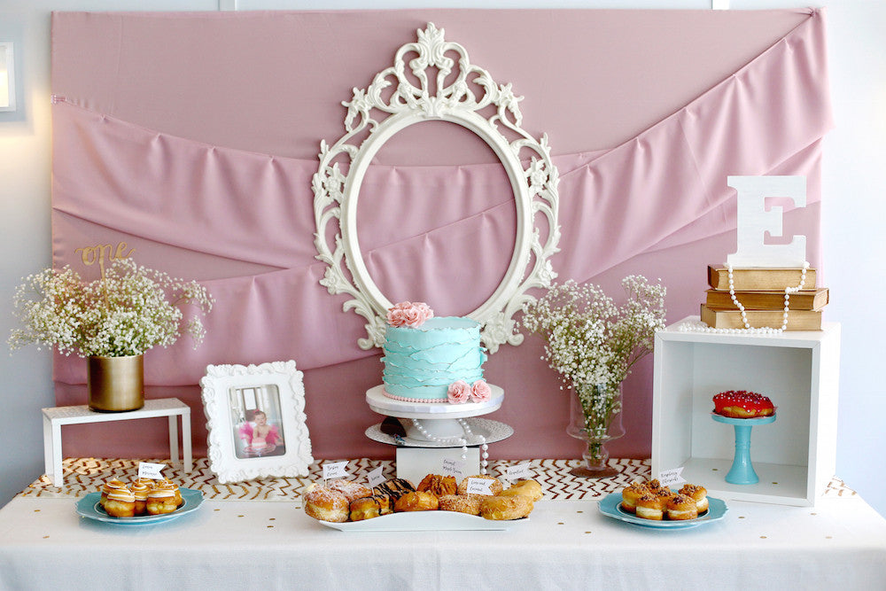 A Vintage Chic First Birthday Party
