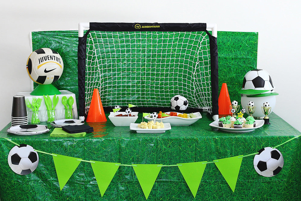 Soccer Themed Birthday Party Kit Pop And Confetti