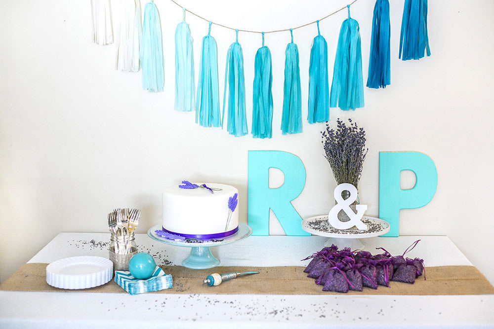 Rachel's Blue Lavender Bridal Shower