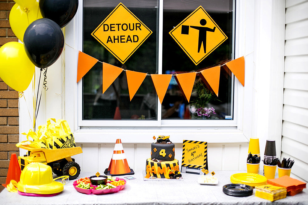 Samuel's Construction Themed Birthday Party