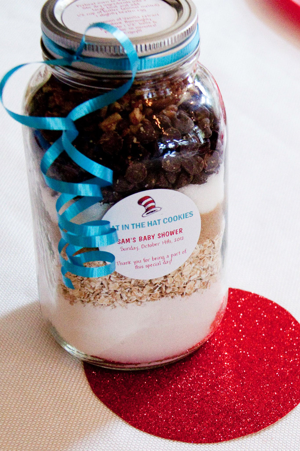 Cookies in a Jar DIY Party Favors