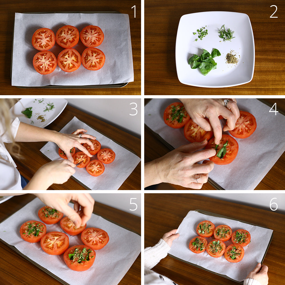 Easy Brunch Recipes :: Herb-Roasted Tomatoes