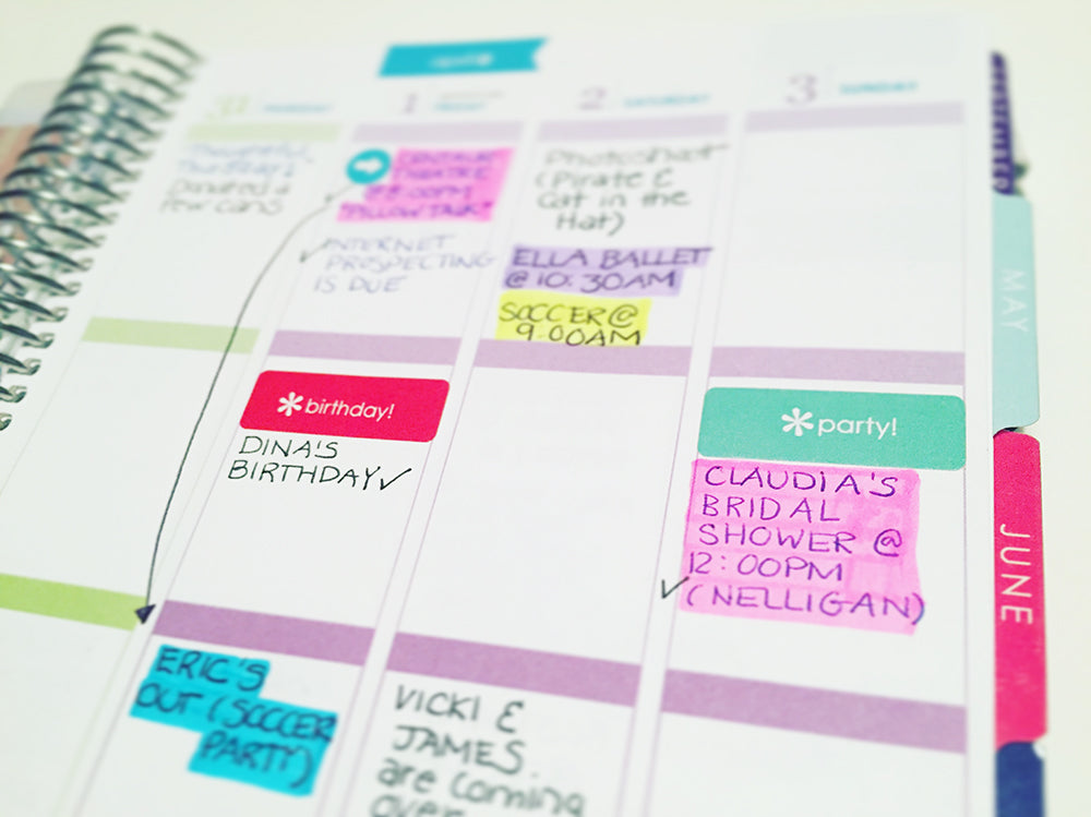 Pop and Confetti :: How I Keep My Life Organized