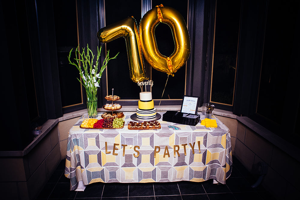 Lynn and Peter's 70th Birthday Party | Pop and Confetti