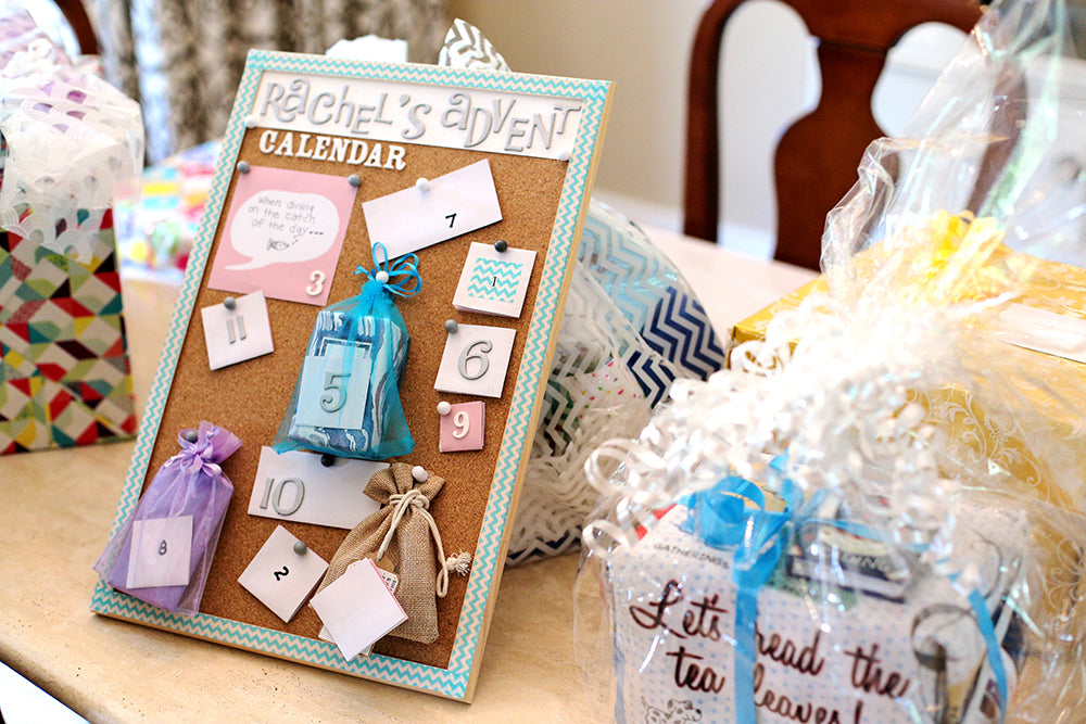 Rachels Blue Lavender Bridal Shower Pop And Confetti