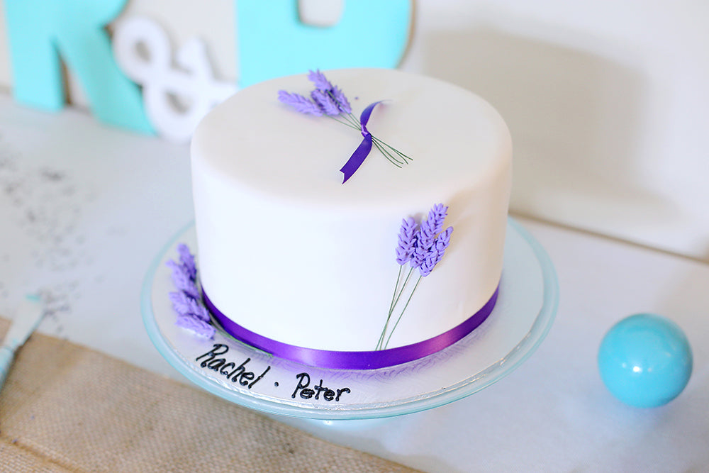 Rachel's Blue Lavender Bridal Shower :: Pop and Confetti