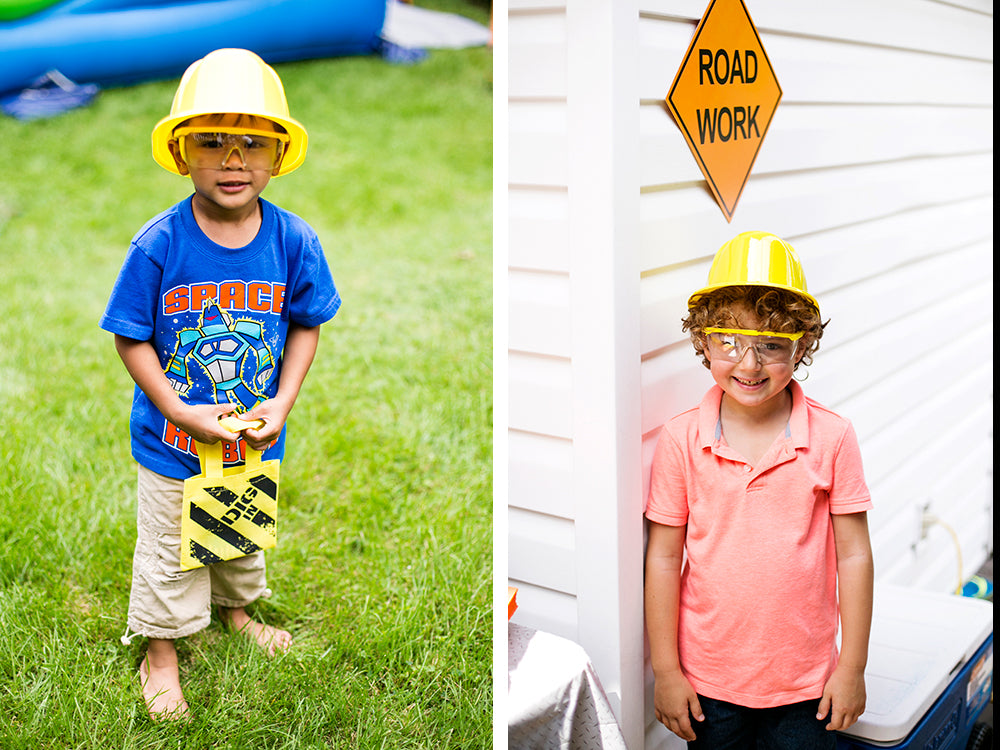 Samuel's Construction Themed Birthday Party | Pop and Confetti