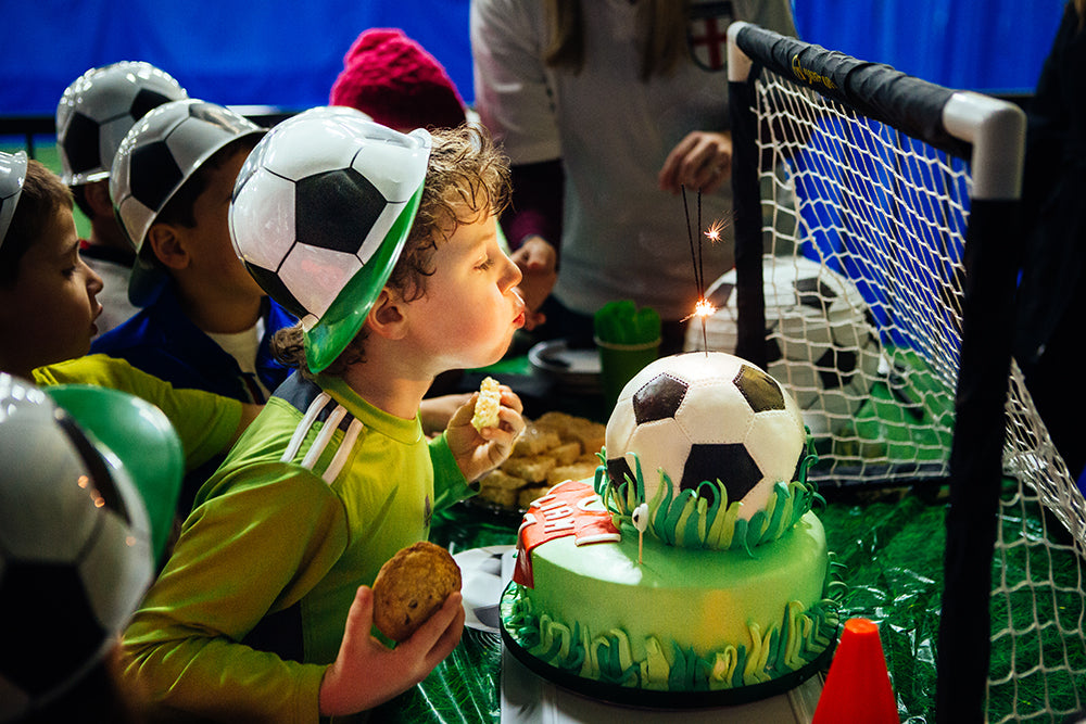 Liam's Soccer-Themed Birthday Party | Pop & Confetti