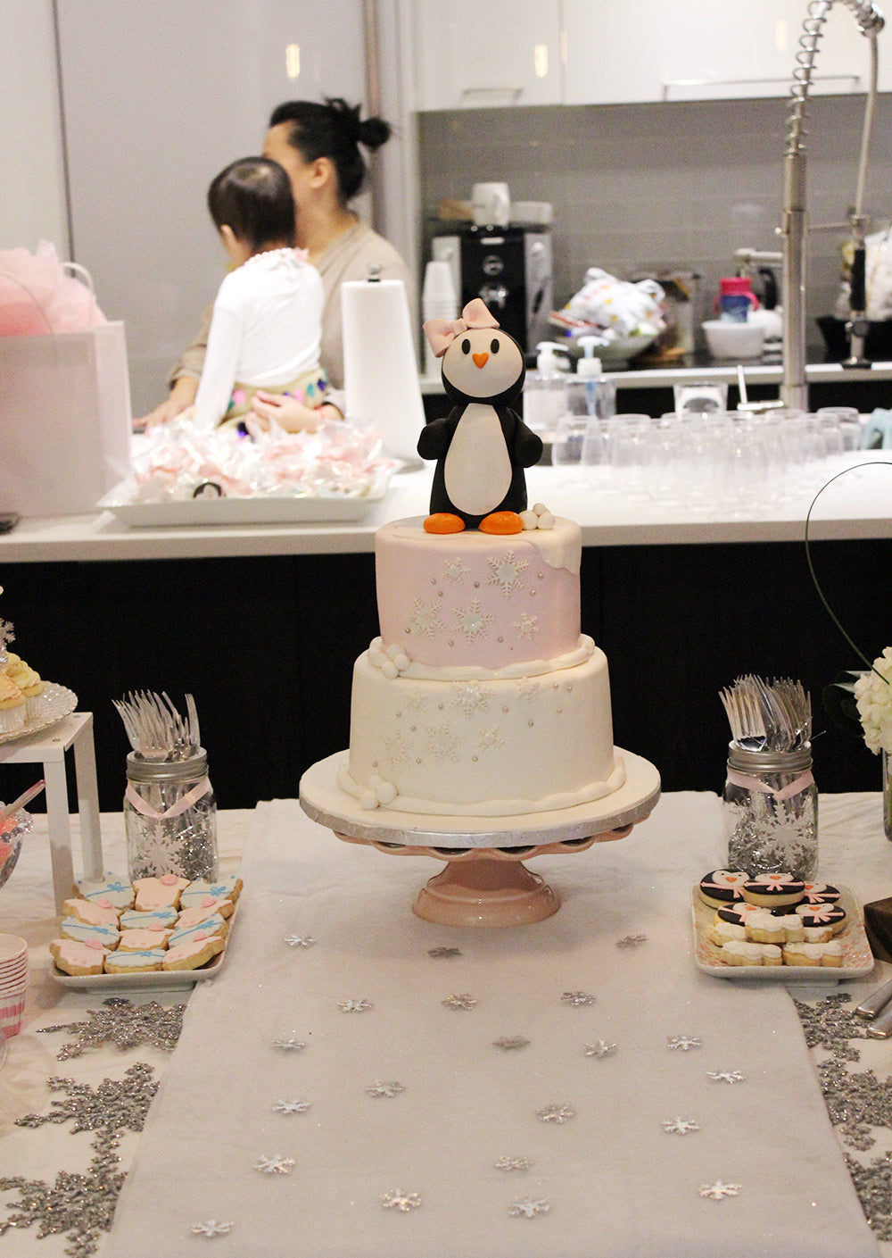 Winter Wonderland Themed Baby Shower