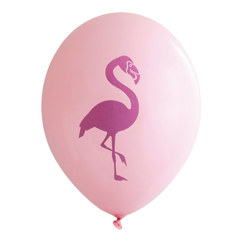 Raspberry Flamingo on Bubblegum Pink Balloons (Pkg of 3)