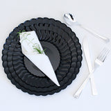 Ruffle Plastic Plates (Party of 12)