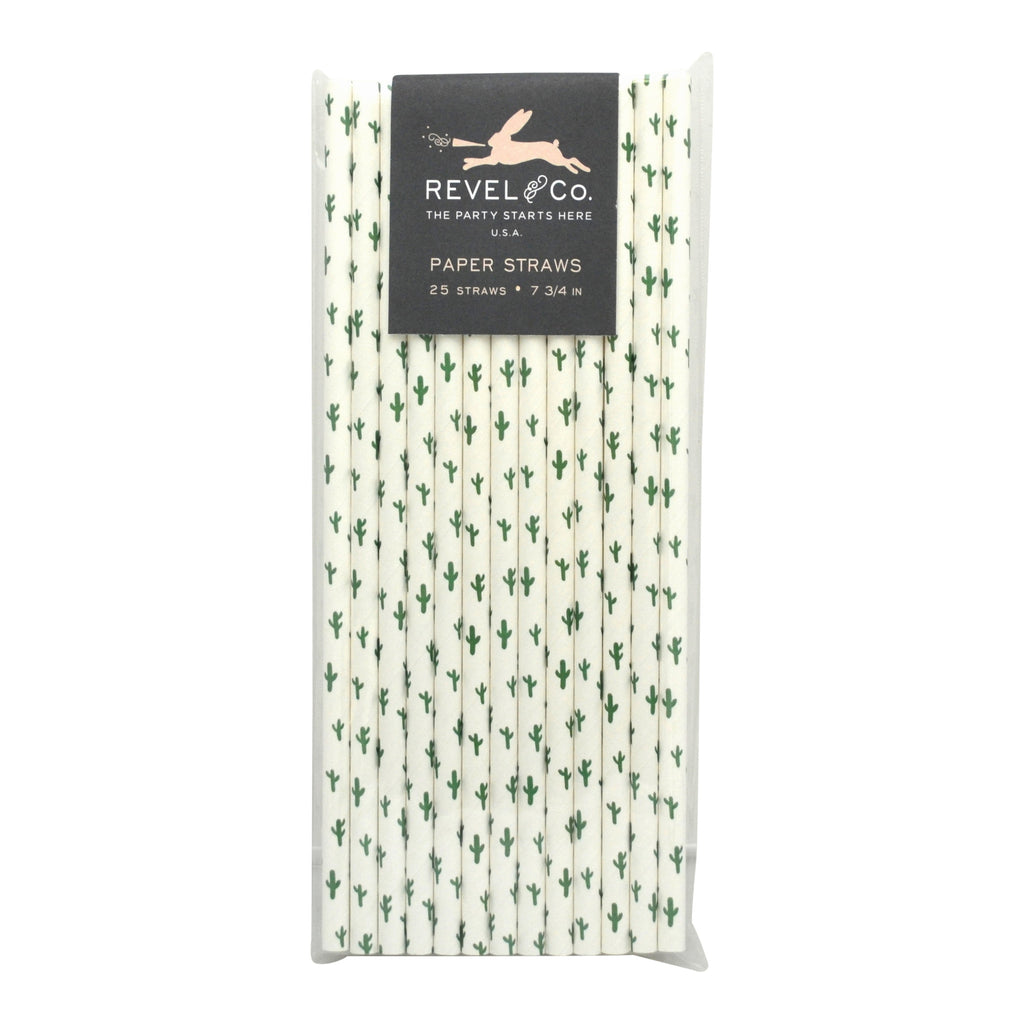 Cactus Straws (Set of 25)