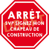 "Construction ""STOP"" Sign"