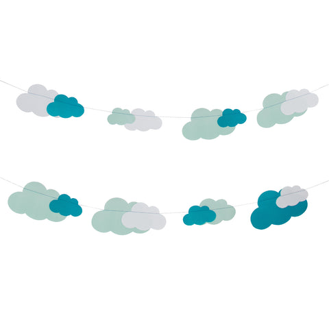 Over the Clouds Paper Garland