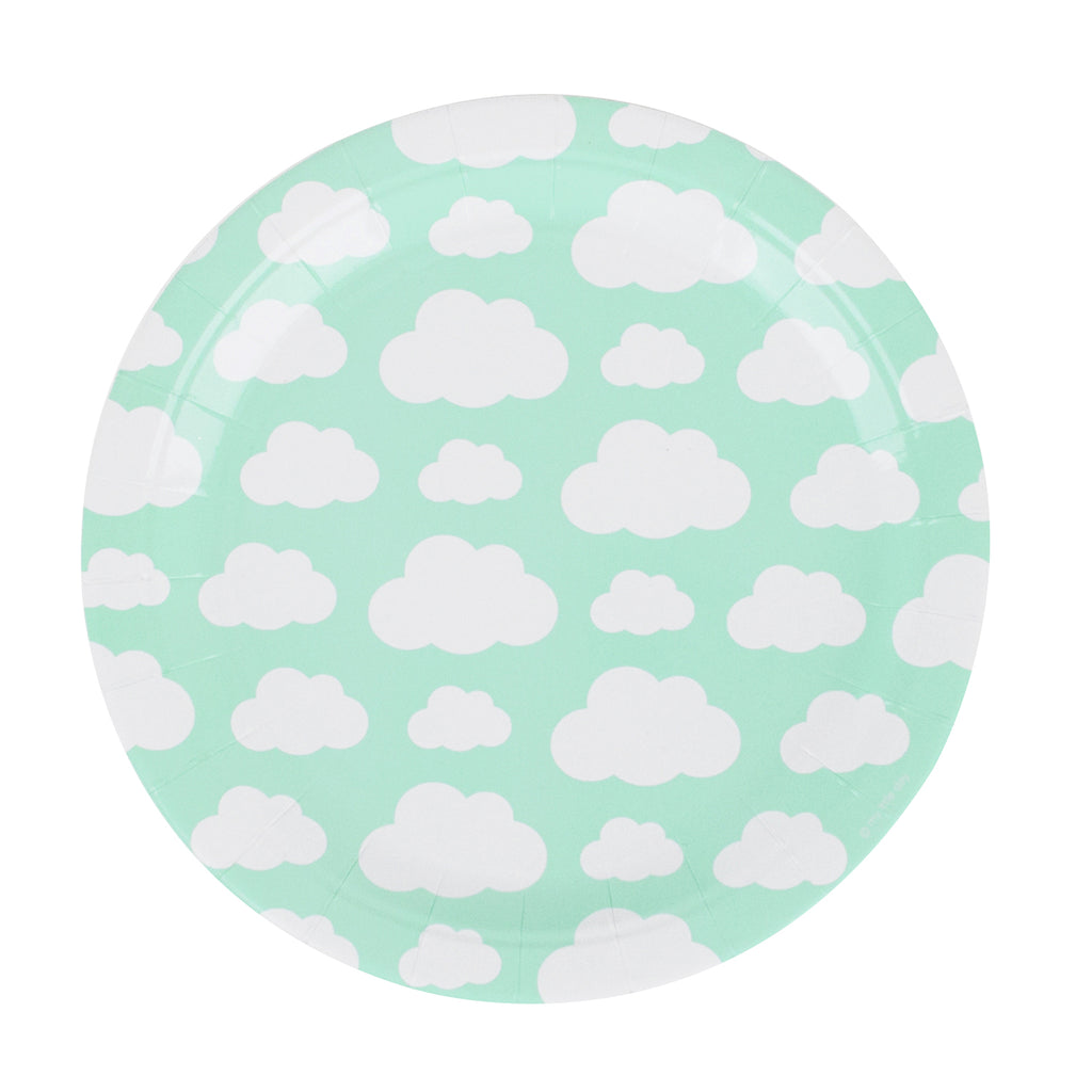 Over the Clouds Paper Plates