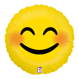 "Emoji Smiley Balloon (18"")"