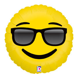 "Emoji Sunglasses Balloon (18"")"